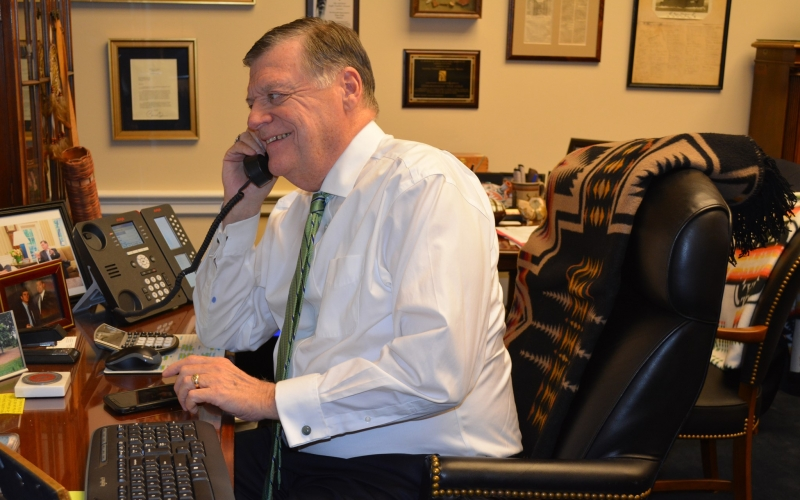 Rep. Cole is hosting a telephone town hall on Monday, May 24 at 12:30 pm CT.